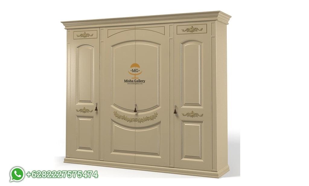 Lemari Pakaian Mewah 4 Pintu