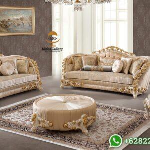 Kursi Sofa Tamu Mewah Velasco Klasik