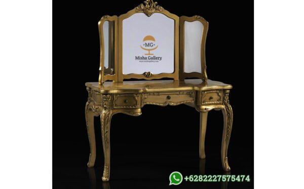 Meja Rias Mewah Klasik Vanity