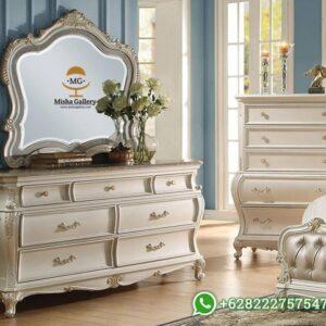 Meja Rias Putih Duco Elle