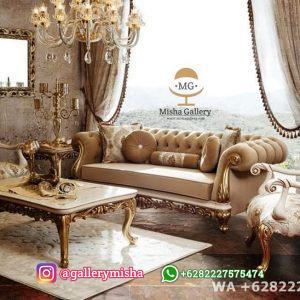 Set Sofa Tamu Chester Pasha Klasik