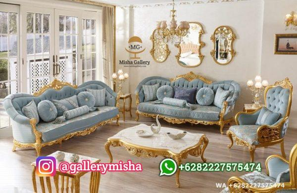 Set Sofa Tamu Hunkar Mewah Terbaru
