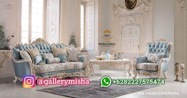 Set Sofa Tamu Klasik Impara Mewah