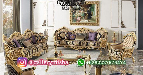 Set Sofa Tamu Klasik Sultan Mewah