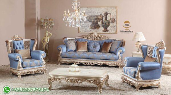 Sofa Tamu Mewah Ukiran Klasik Natali