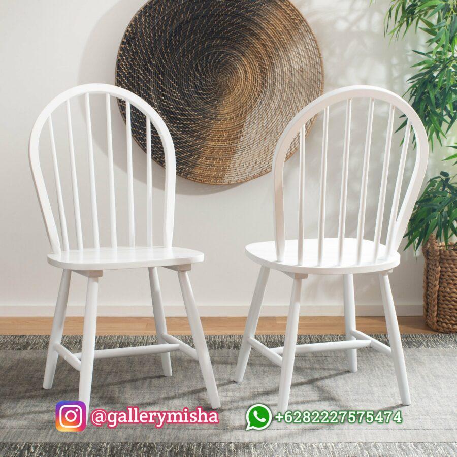 Kursi Cafe Kayu Putih Duco