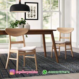 Kursi Cafe Ropan Jati Minimalis
