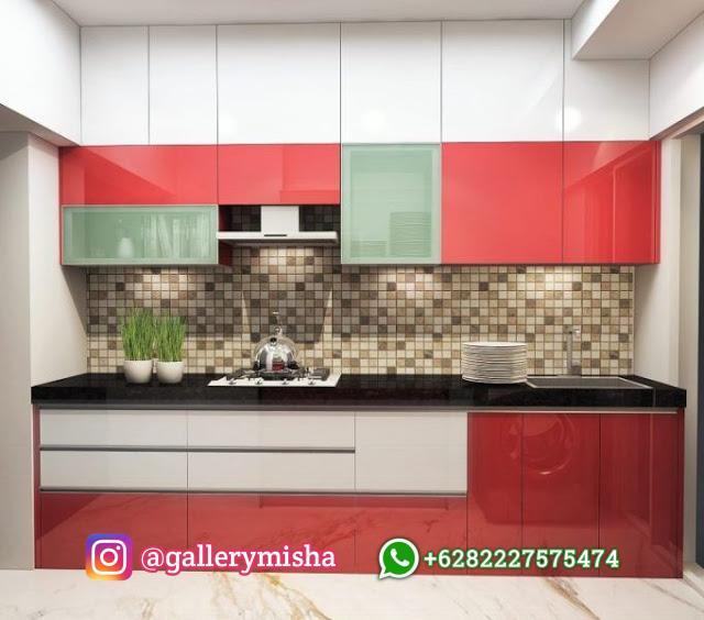 Dapur efektif satu sisi