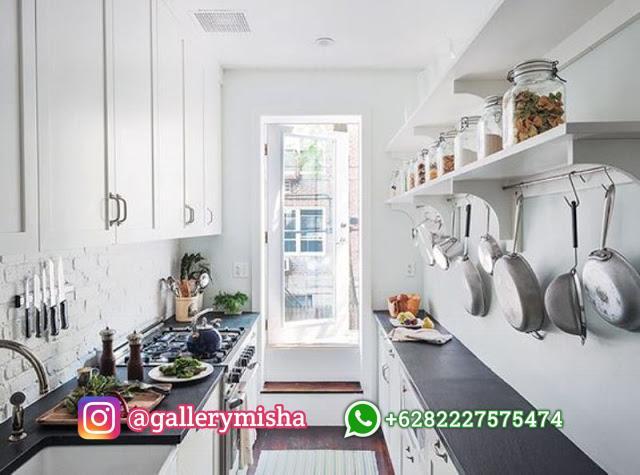 Dapur dua sisi bersama penyimpanan cerdas