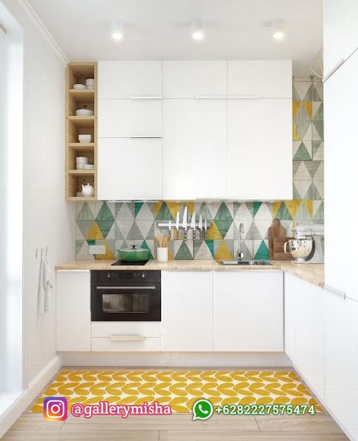 Dapur simpel bersama fitur unik