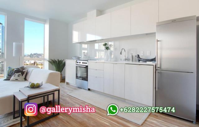 Dapur minimalis tata letak terbuka