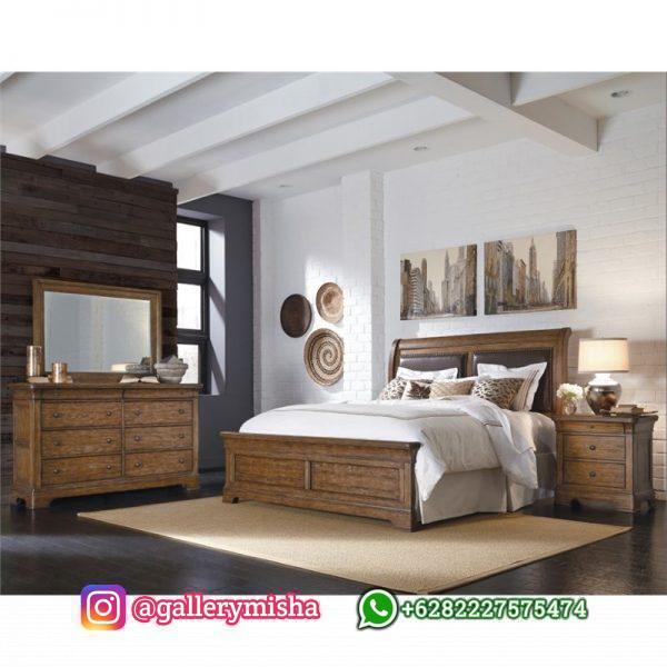Furniture Kamar Tidur Jati