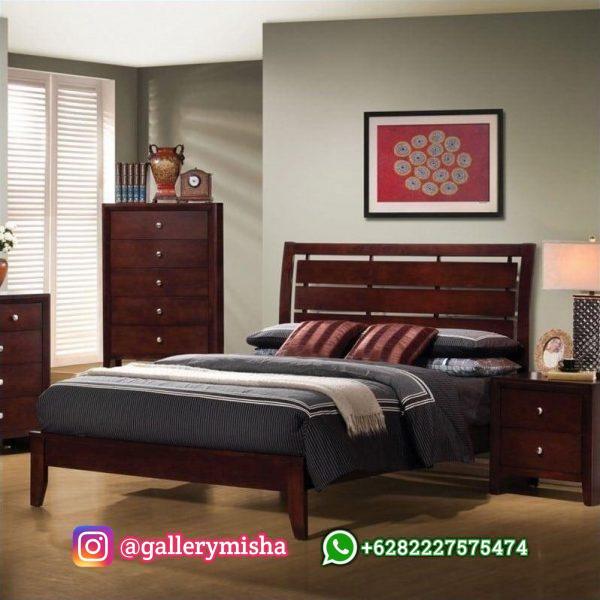 Ranjang Tidur Kayu Jati