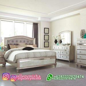 Set Kamar Tempat Tidur Modern