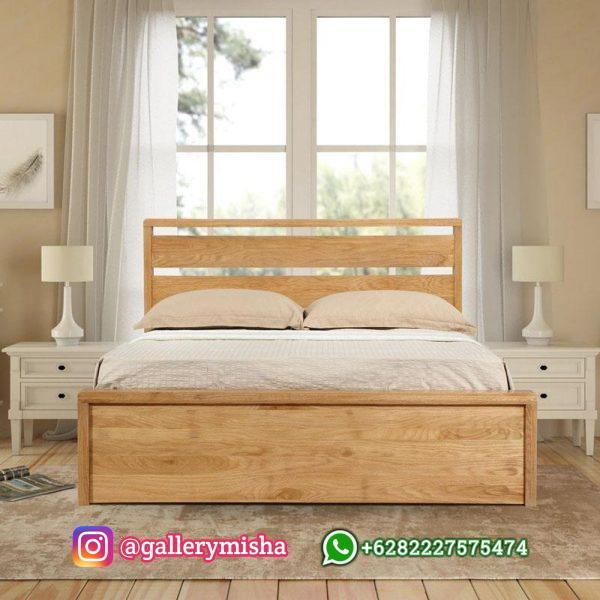 Tempat Tidur Jati Minimalis Terbaru Emporia