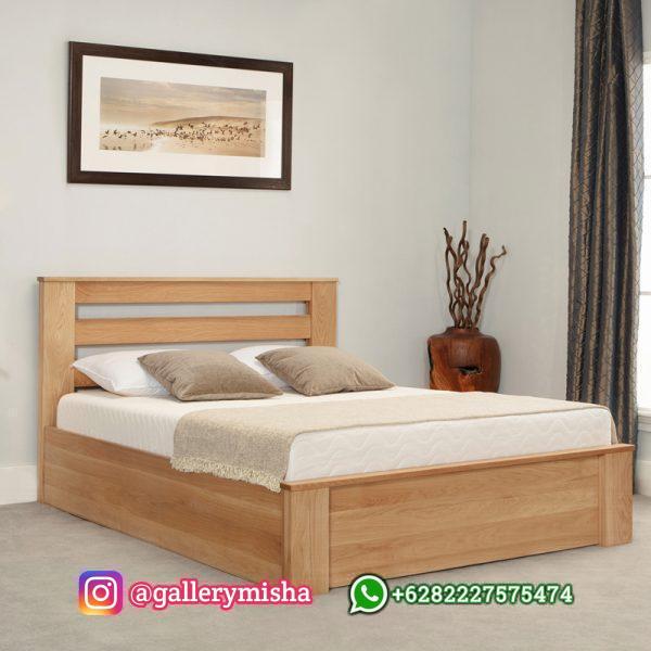 Tempat Tidur Jati Model Minimalis Terbaru Charnwood
