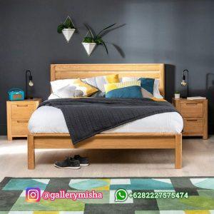 Tempat Tidur Jati Terbaru Desain Minimalis