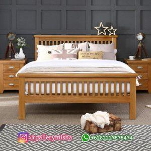 Tempat Tidur Kayu Minimalis Model Terbaru