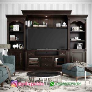 Bufet TV Minimalis Jati Tessa