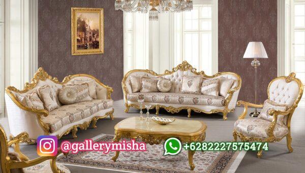 Set Sofa Tamu Mewah Astone